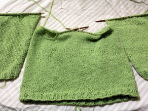 Сборка свитера
