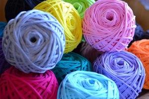 Трикотажная пряжа для вязания