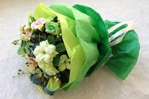 Бумага тишью для упаковки цветов