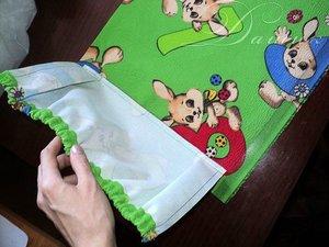 Кармашки для шкафчика в детском саду