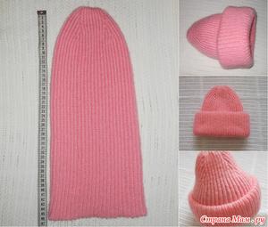 Особенности вязки шапки