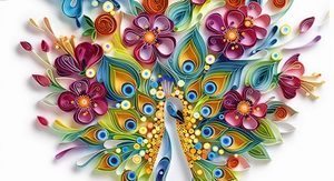 kvilling-pavlin-fotografiya Квиллинг для начинающих пошагово с фото: схемы с описанием, цветы как сделать и видео-уроки, мастер-класс поэтапно