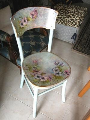 Уроки по декупажу мебели