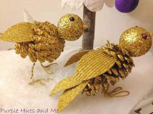 kak-izgotovlivat-krasiveishie-podelki-iz-shishek Поделки из шишек и пластилина для детей, сова из шишки и пластилина своими руками, сова и ежик для ребенка