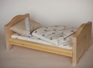 Как сделать кроватку для Барби