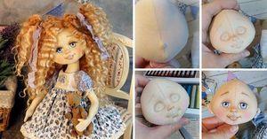 kukly-svoimi-rukami Кукла своими руками для начинающих. Мастер класс, выкройки с пошаговым описанием из ткани, колготок, носка, ниток, пластиковых бутылок, бумаги. Фото