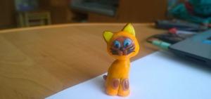 Как слепить кошку из пластилина? Советы и пошаговые инструкции