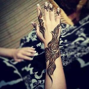 Рисунки мехенди для росписи рук