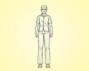 Рисуем человеческую фигуру