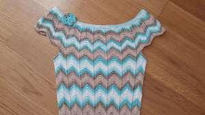 вязание платья миссони