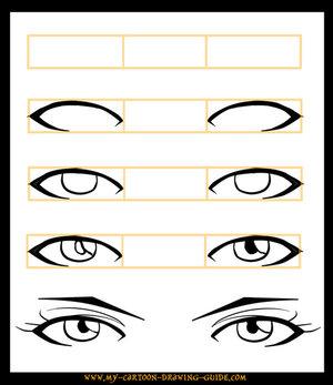 Рисуем оба глаза сразу