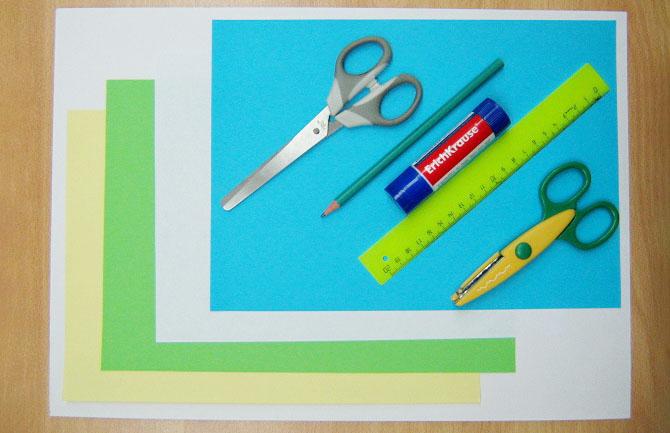 Бумажное моделирование — простые фигуры из бумаги