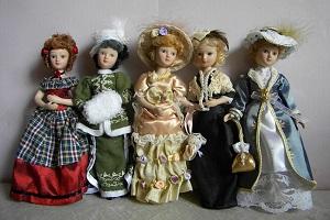 Куклы из коллекции