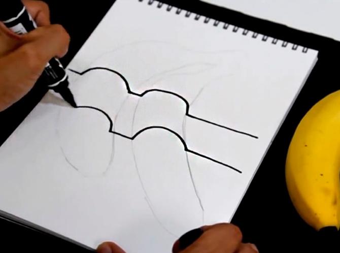 3-D рисунки карандашом для начинающих