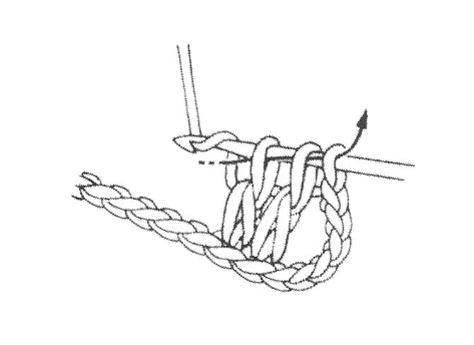 Как связать шаль крючком