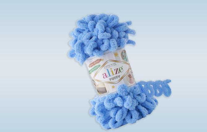 Плюшевая пряжа для вязания