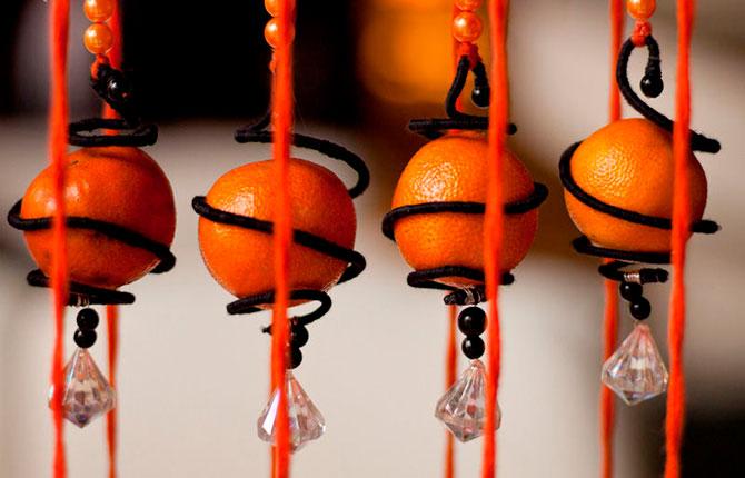 Идеи поделок из мандаринов к Новому Году и не только