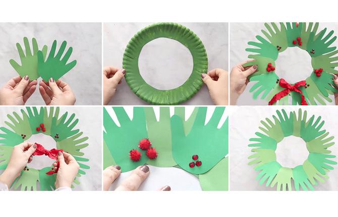 Простые новогодние поделки для детского сада - пошаговый мастер-класс