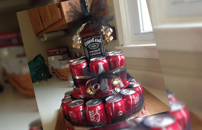 Торт из Кока-Колы на День святого Валентина