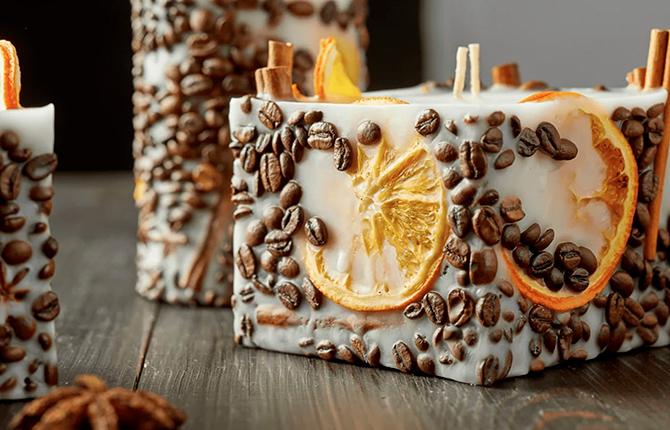 Способы приготовления кофейной свечи