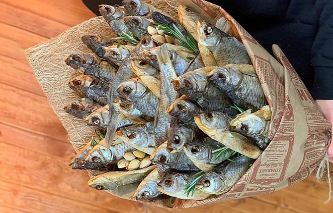 Букет из рыб