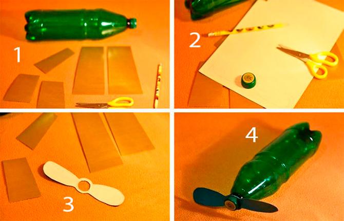 Как сделать самолёты из пластиковых бутылок - фото идеи с пошаговым описанием