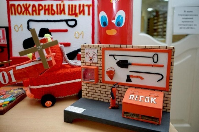 Делаем поделки на тему пожарной безопасности - пошаговый мастер-класс