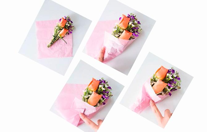 Как сделать тюльпаны из гофрированной бумаги своими руками